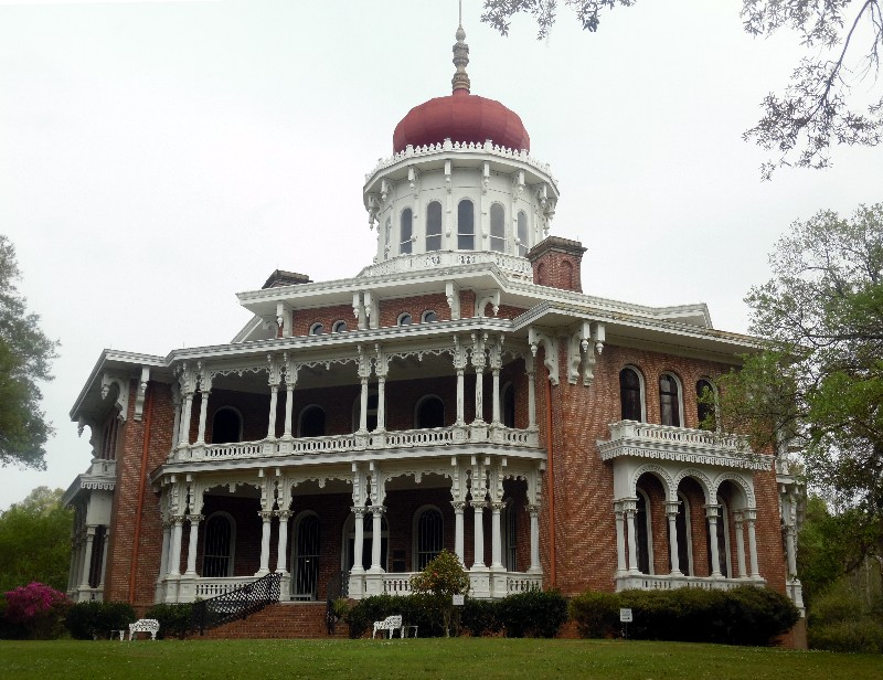 "A ""must see"" in Natchez is Longwood, an octagonal estate mansion constructed -- but never finished inside -- during the Civil War era. Photo by Susan J. Young."