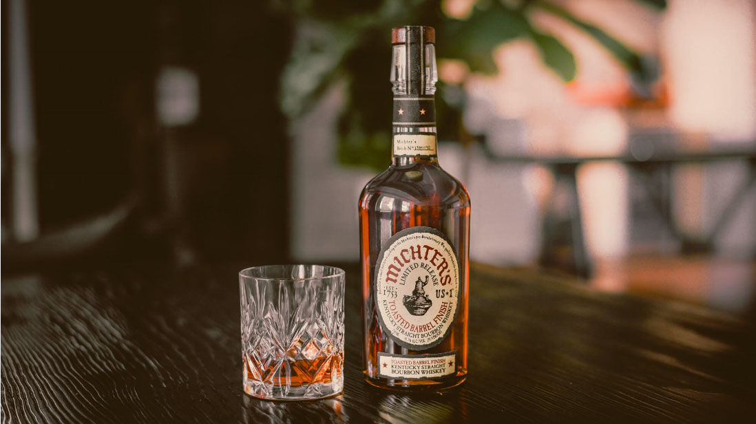 Due to a whiskey shortage, Michter's has had to allocate their products. The shortage led to a three-year hiatus of one of Michter's most revered expressions: US*1 Toasted Barrel Finish Bourbon. This 91.4-proof bourbon is made by aging Michter's US*1 Kentucky Straight Bourbon in a second custom-made barrel assembled from 18-month air-dried wood, which is toasted rather than charred.