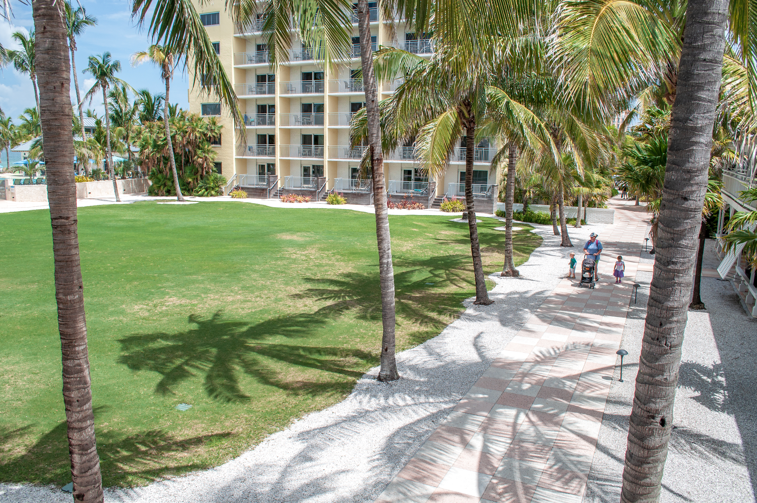 All hurricane damage at the Naples Beach Hotel had been repaired by December.