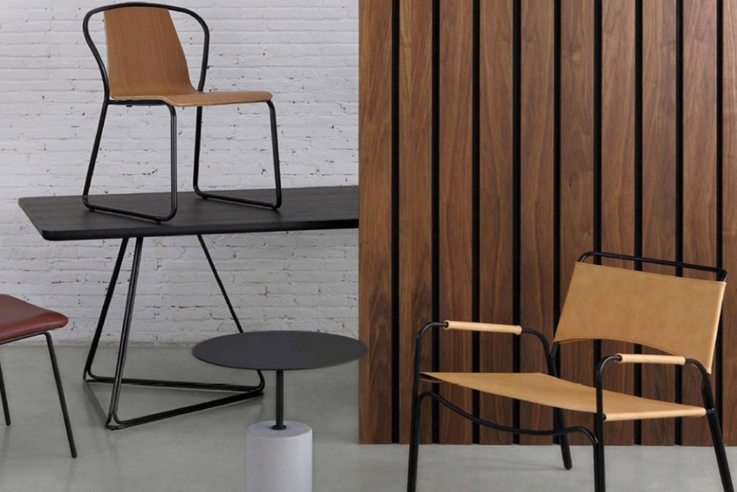 m.a.d. design has launched two new chairs: Sling and Trace.