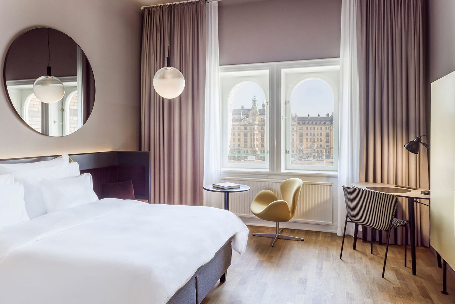 The Radisson Collection Hotel, Strand Stockholm completed a two-year-long renovation involving Swedish architectural studio Wingårdhs.