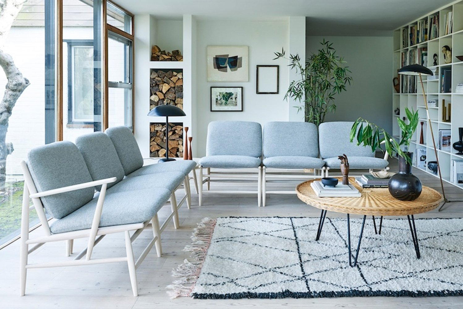Introducing VON, the first collection by British brand Ercol.