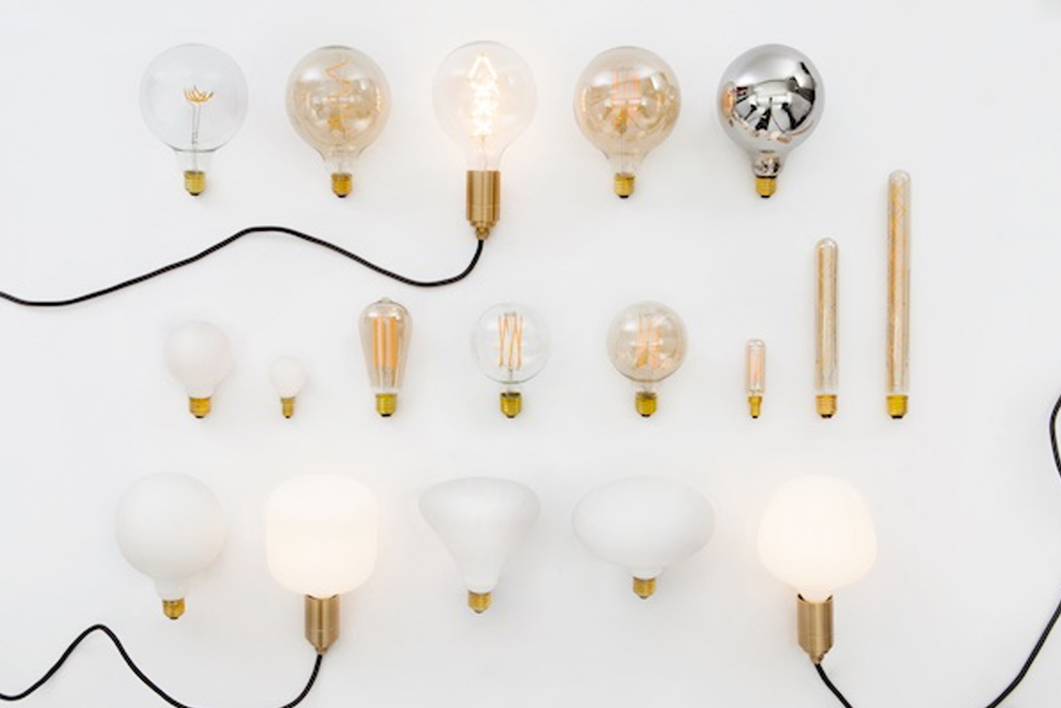 Tala, known for making LED bulbs with LED filament structures, introduced the Voronoi collection.