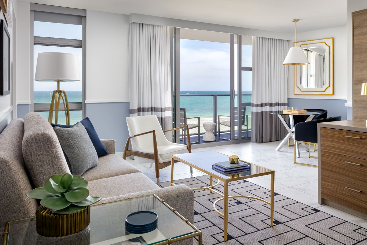 Autograph Collection Hotels, part of Marriott International, with REIT Hersha Hospitality Trust opened Cadillac Hotel & Beach Club.