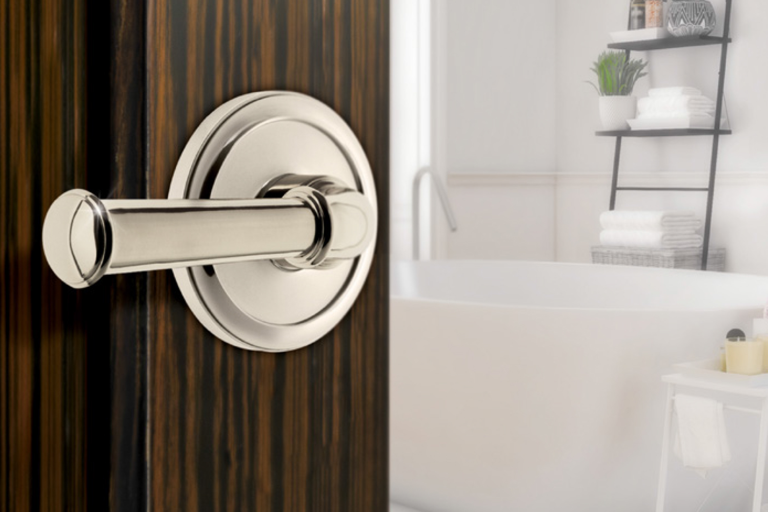 Introducing the Georgetown lever from Grandeur Hardware.
