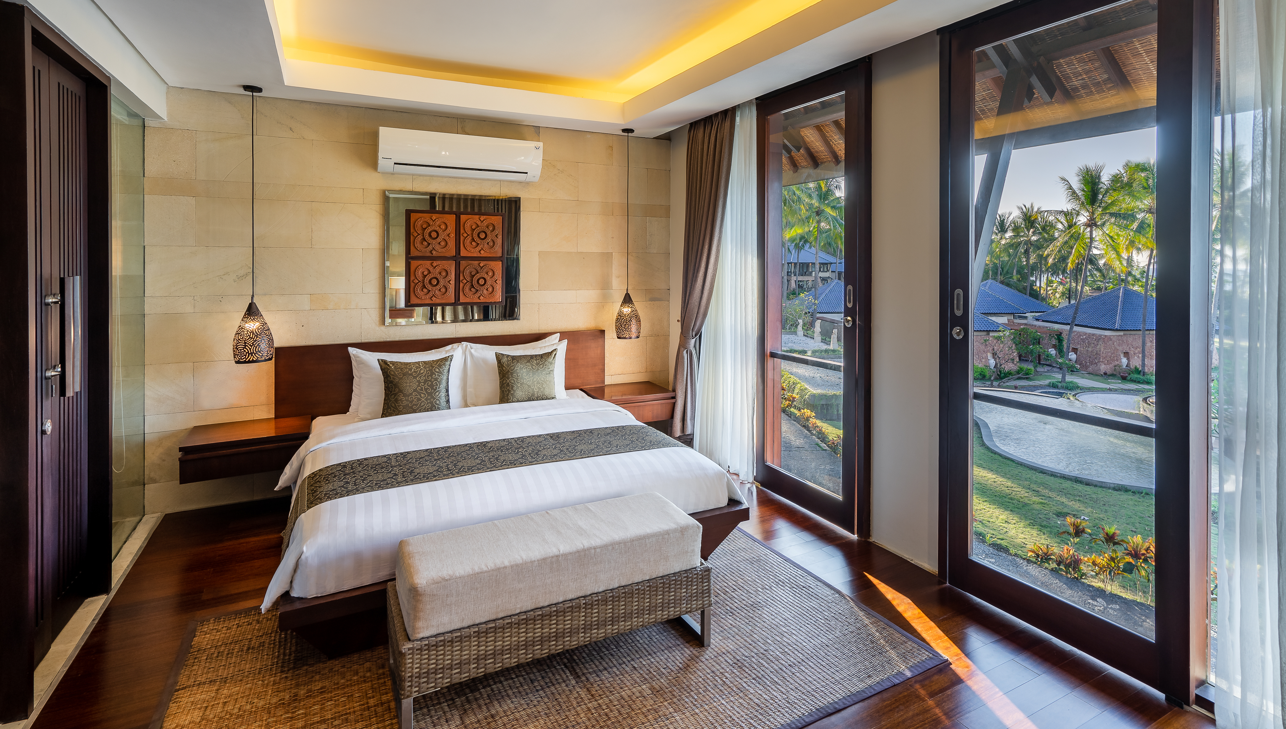 A Grand Suite at the Wyndham Sundancer Resort Lombok.