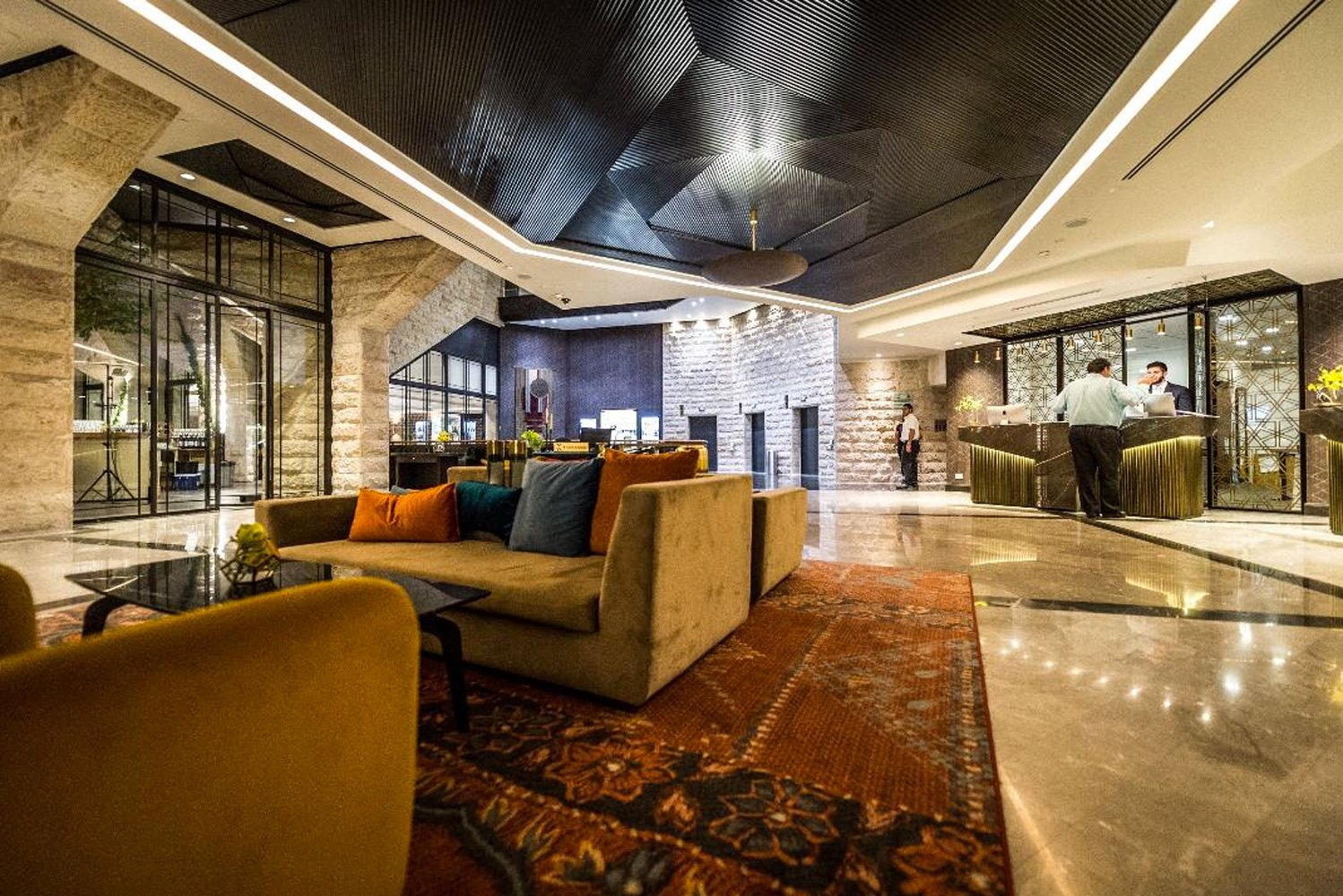 The Inbal Hotel in Jerusalem completed its new wing and fully renovated public areas.
