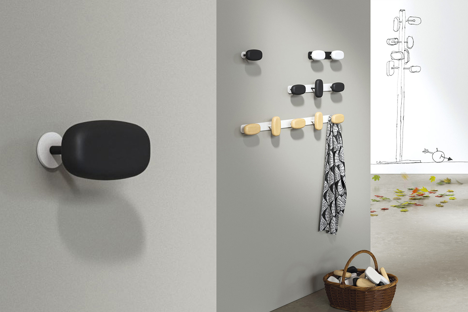 Magnuson Group launched the new Sherwood collection of magnetic hooks, coat trees and hook strips.