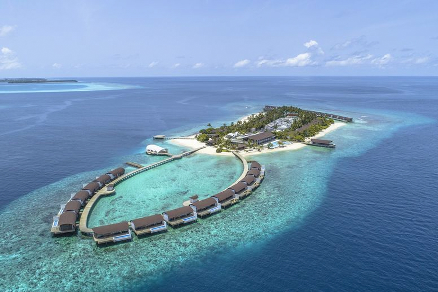 When it opens, The Westin Maldives Miriandhoo Resort will have 70 villas and suites, 41 on island and 29 over the water.