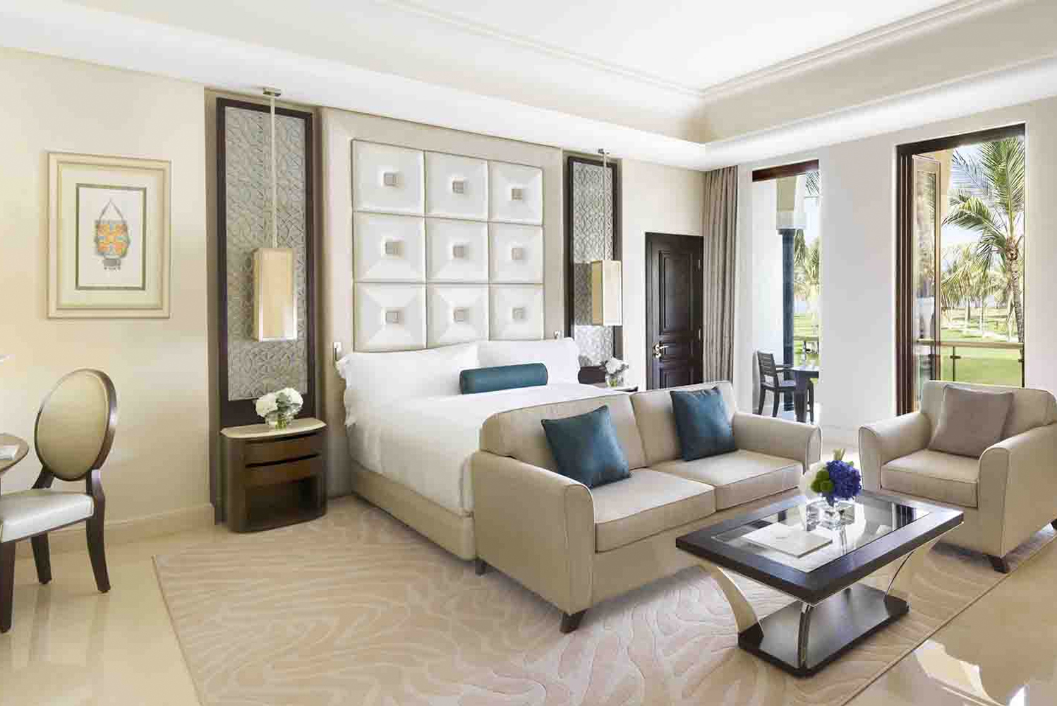 Al Bustan Palace, a Ritz-Carlton Hotel reopened following enhancements.