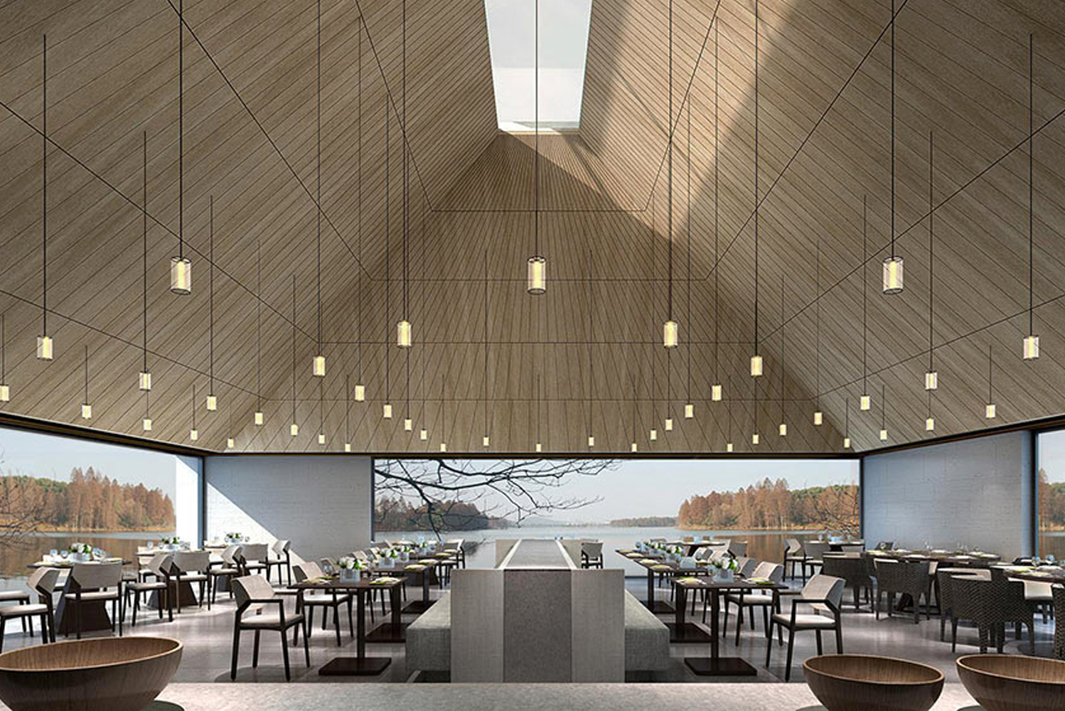 There will be four restaurants and bars, including Shui Shi Kou, Si Shui & Private Dining Room, and Sai Bai.