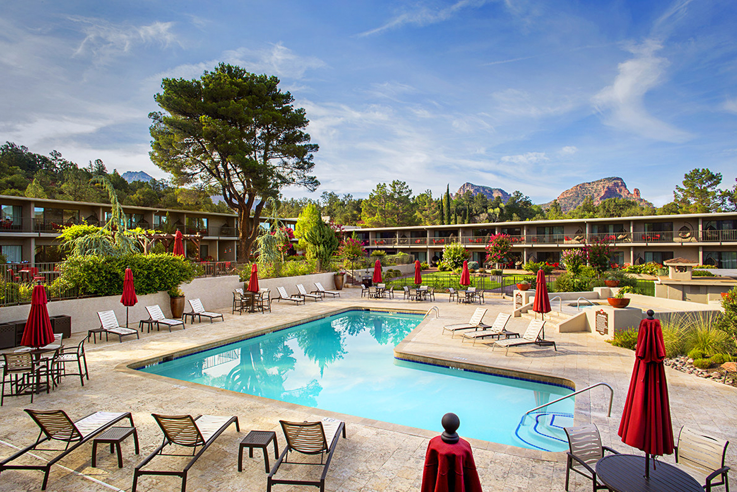 Arabella Hotel – a property located within eight acres of Sedona, Arizona – underwent a $4 million property-wide renovation.