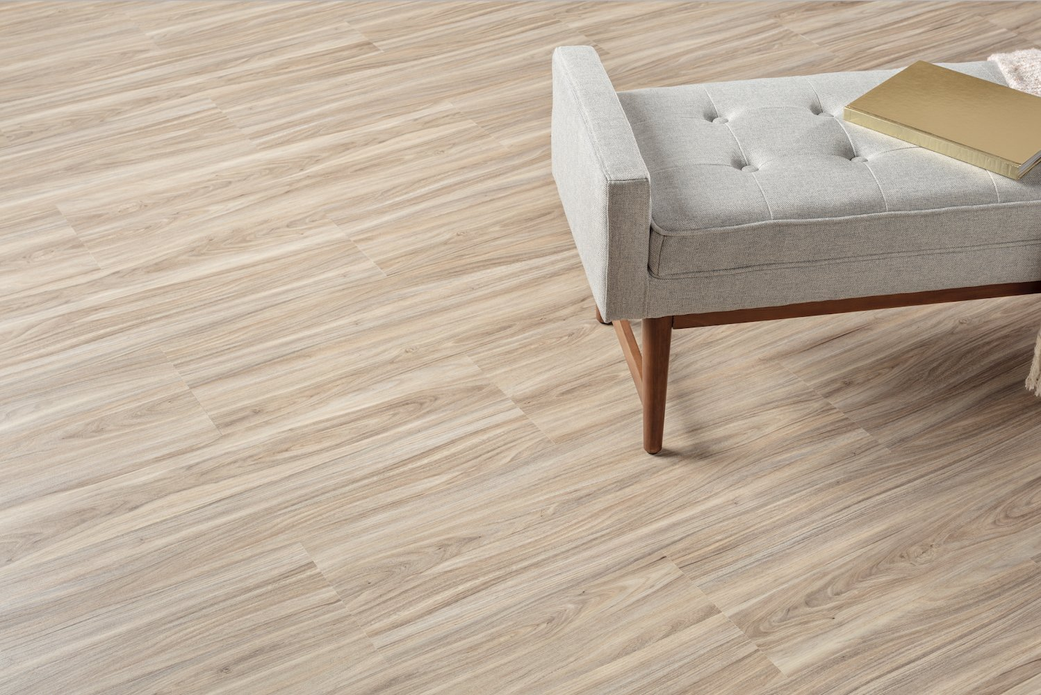The Avara 2mm collection includes 26 vinyl designs—24 planks and two tiles—that were curated from current best-selling 3mm Parterre collections.