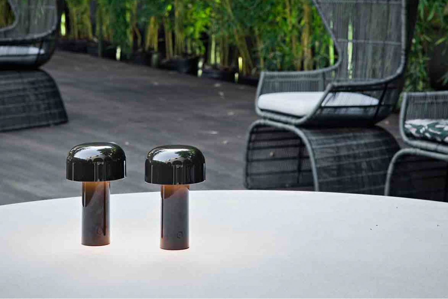 Introducing Bellhop, a battery-powered piece designed for Flos by Edward Barber & Jay Osgerby.