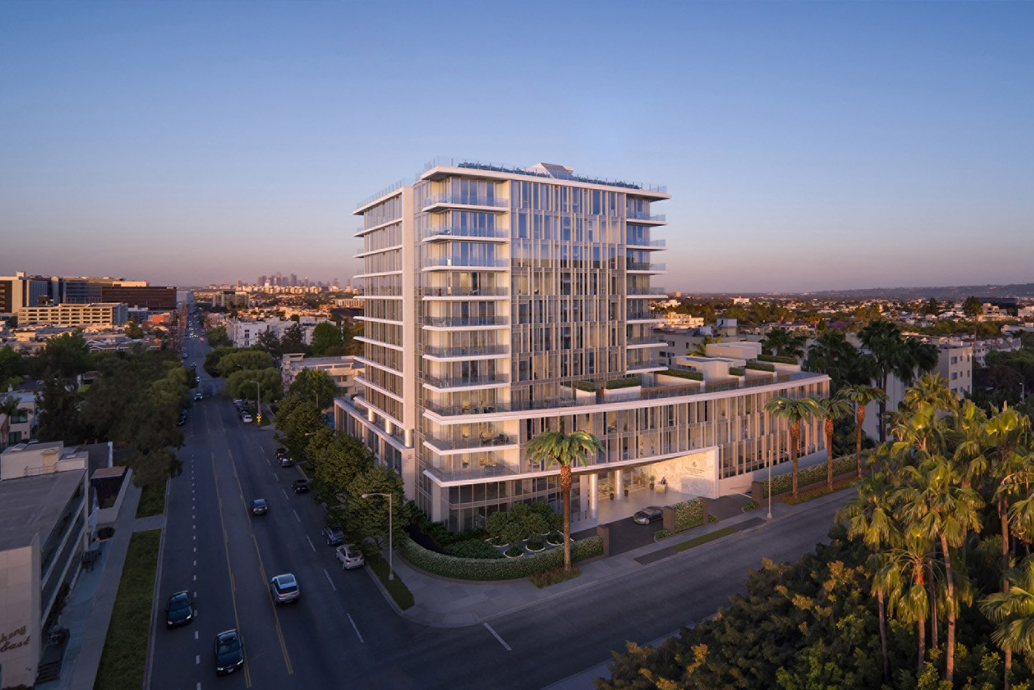 Four Seasons Private Residences Los Angeles, which will be located at 9000 W. 3rd Street, is the company's first standalone residential project in North America.