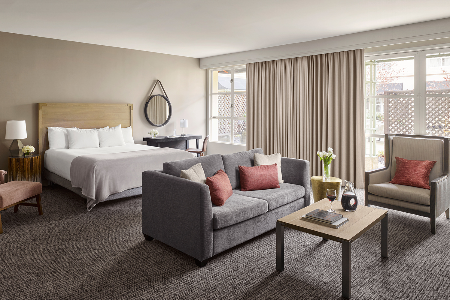Hyatt Regency Sonoma Wine Country completed its redesign to add 90 guestrooms.