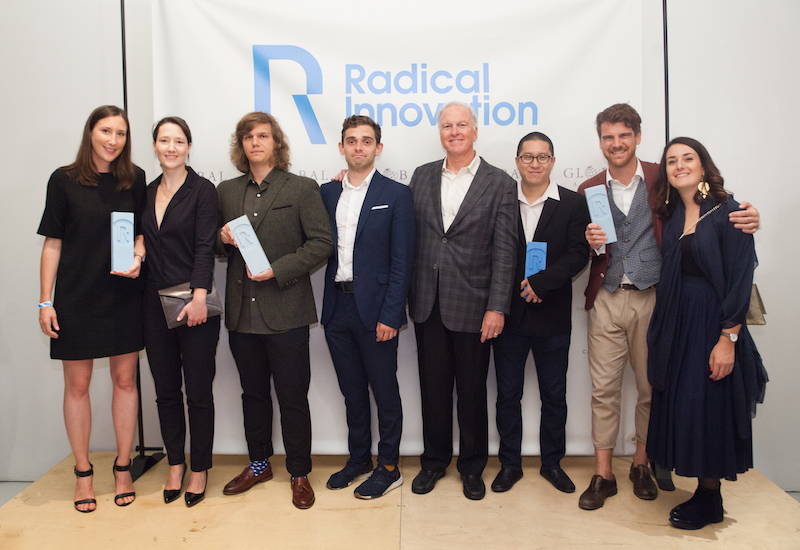 2019 Radical Innovation Finalists (from left): Alice and Clotilde Varinot, Varinot & Varinot Architectes; Daniel Czyszczoń and Michał Witalis, Kracow University of Technology; John Hardy, The John Hardy Group; Steve Lee, Aprilli Design Studio; and Stefan Rien and Barbara Runggatscher, Network of Architecture