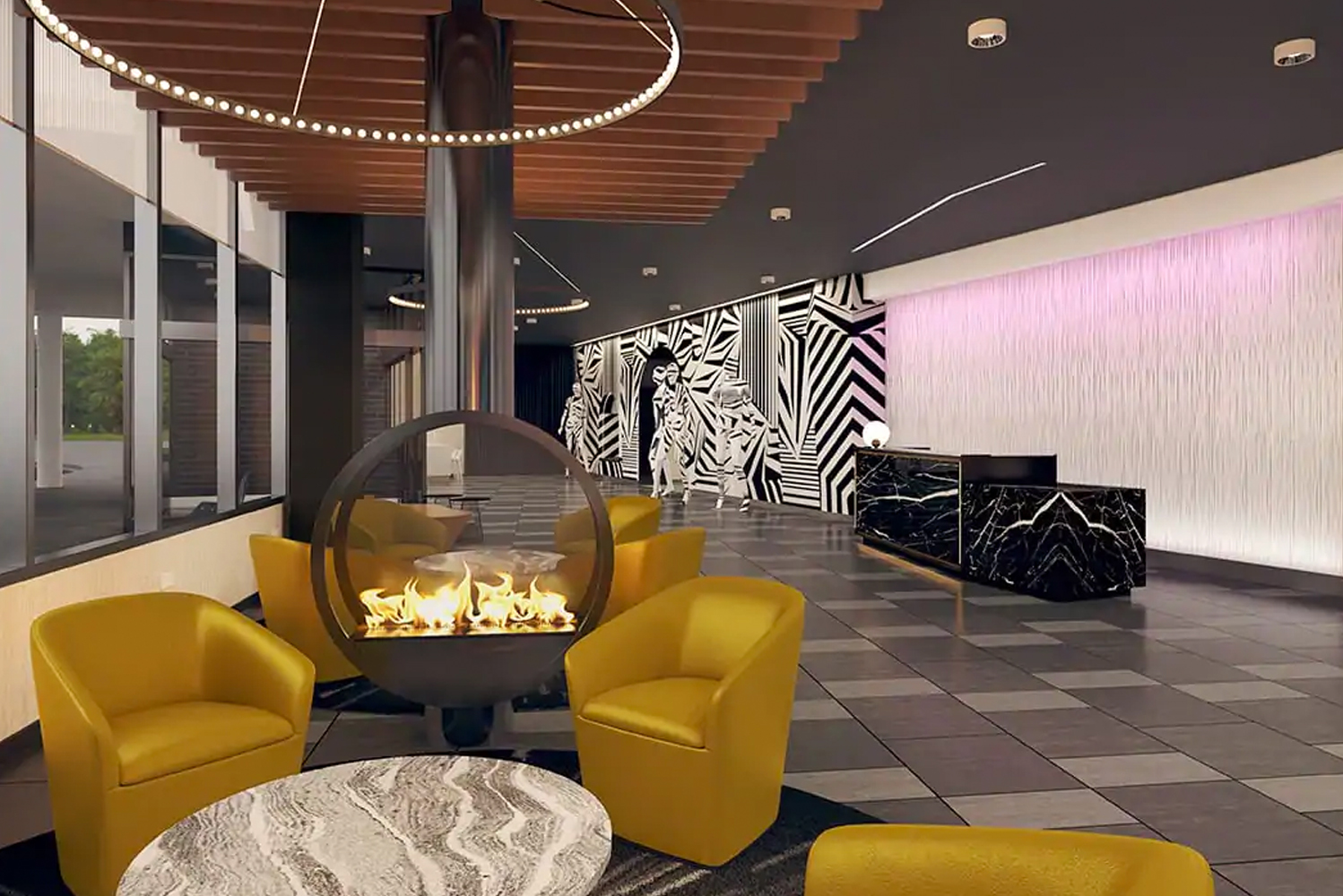 Rosemont's first boutique hotel, The Rose Hotel Chicago/O'Hare, Tapestry Collection by Hilton will open at 5200 Pearl Street this November.