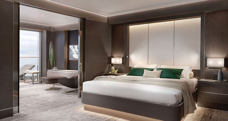 The Grand Suite's Bedroom