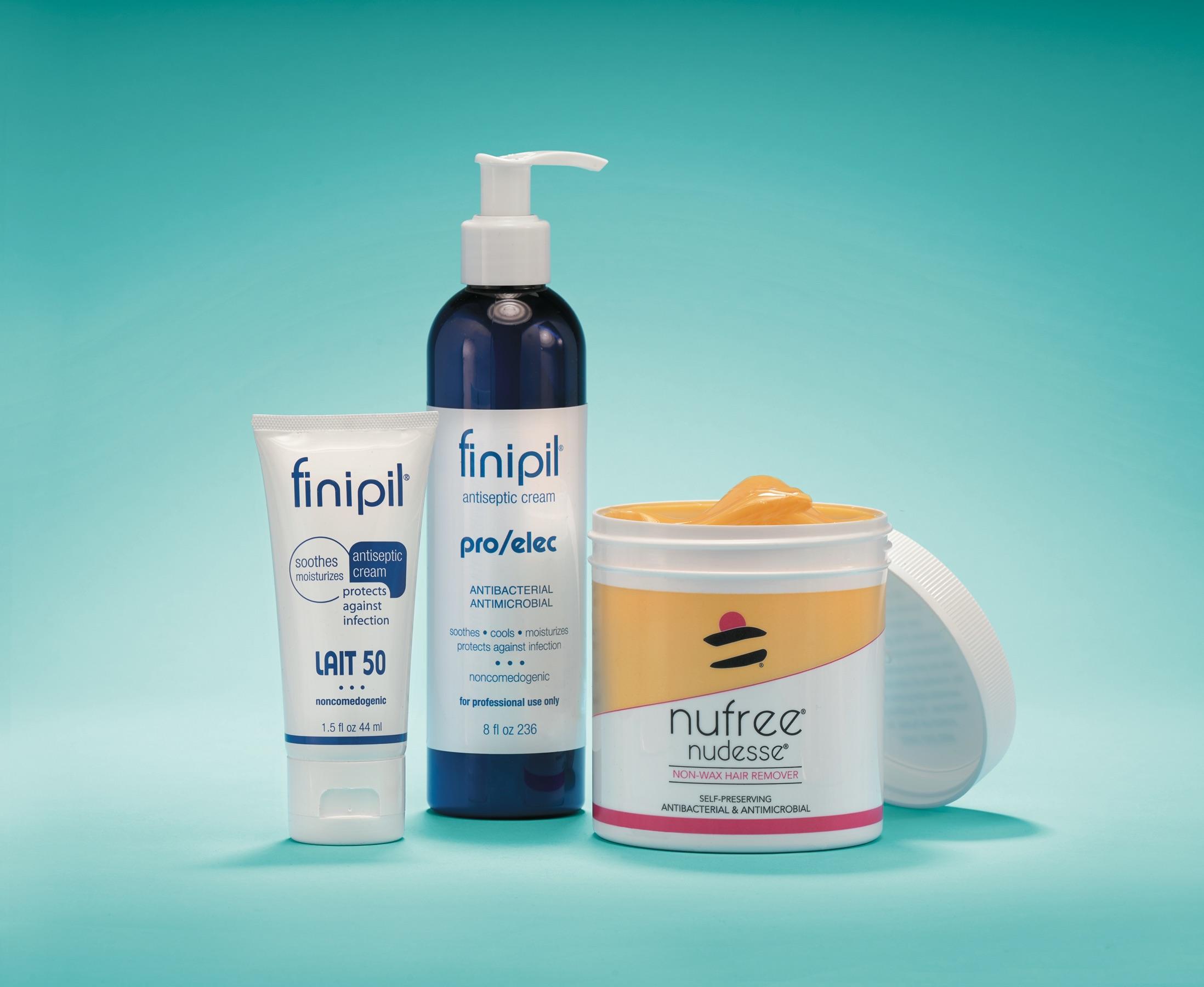 Favorite Hair Removal Line: Nufree Nudesse/Finipil