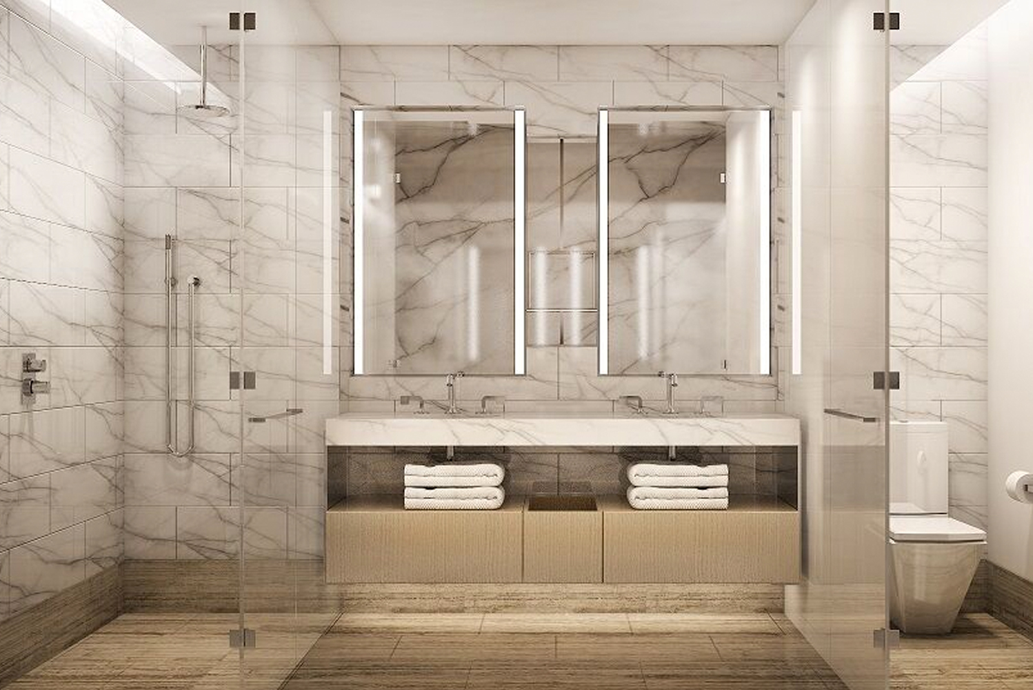 The hotel's concept was envisioned by Swiss architecture firm Herzog & de Meuron.