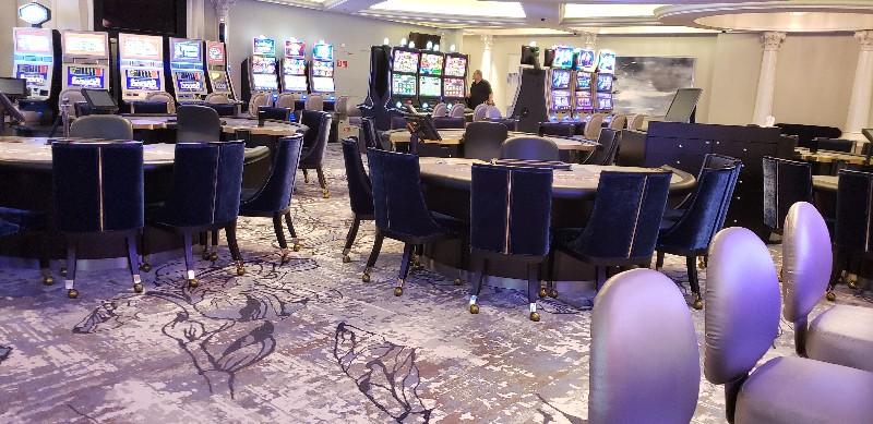 The newly updated Resorts World Casino at Sea.
