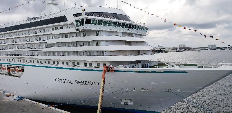 Crystal Serenity at Port Everglades, FL