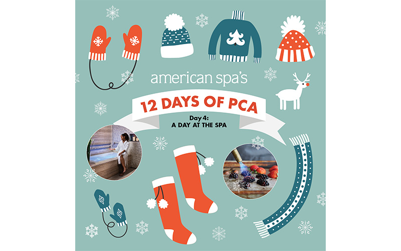 12 Days of PCA Day Four: A Day at The Spa