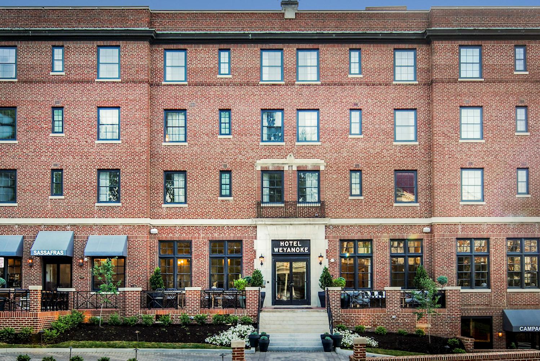 Hotel Weyanoke opened as the newest boutique property in Farmville, Va.