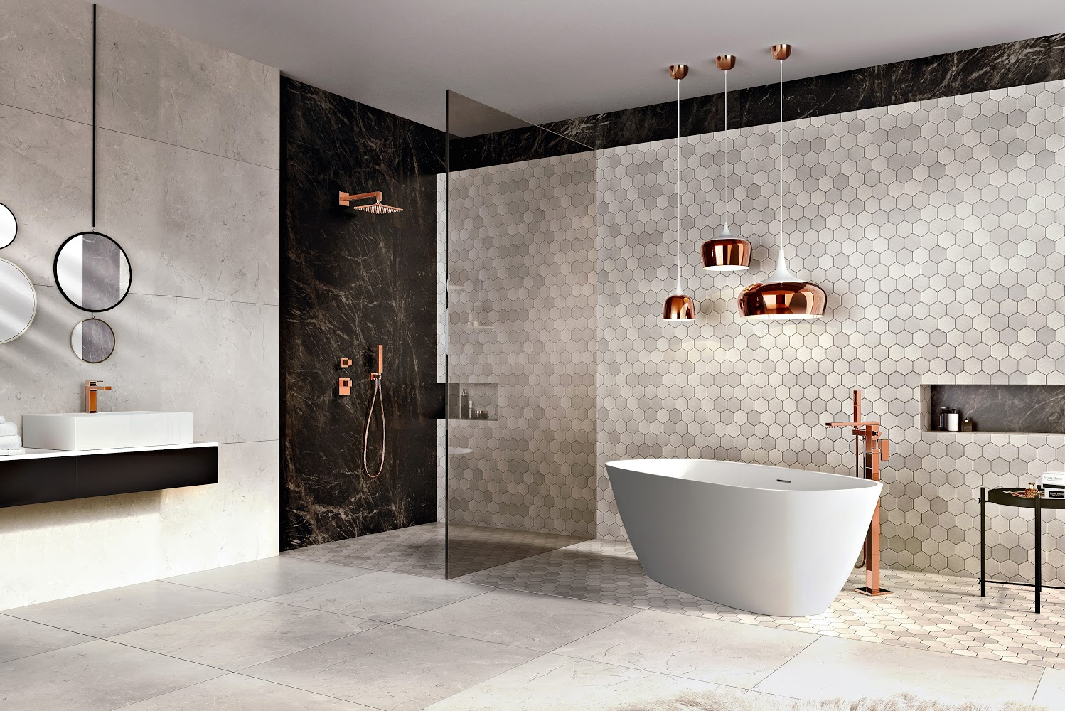 Graff, manufacturer of kitchen and bath products, unveiled the Incanto collection.