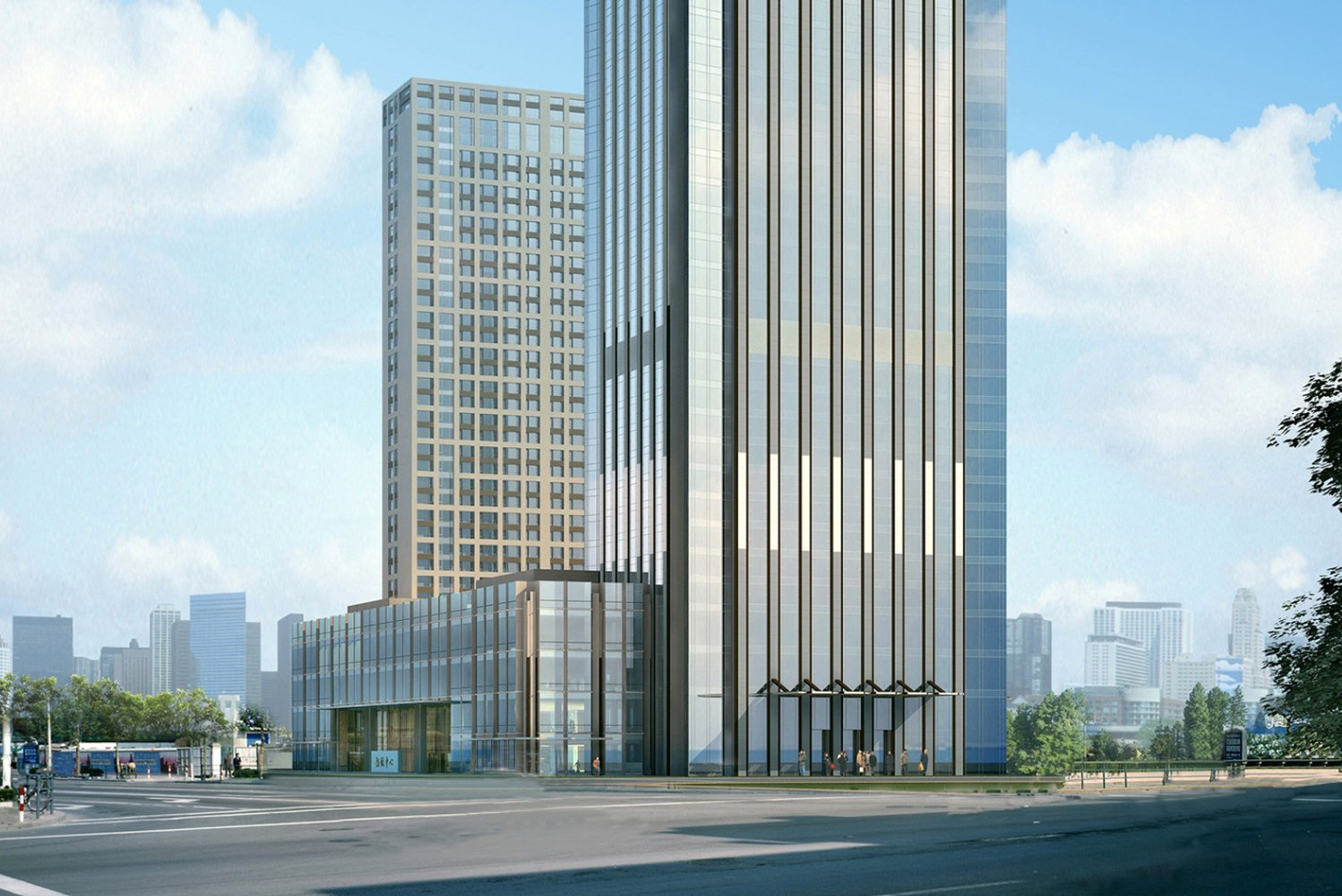 Langham Hospitality Group opened The Langham, Hefei.