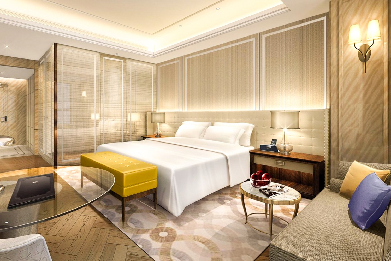 Located in the city's new administration and cultural center, The Langham, Hefei is in the heart of the business, shopping and entertainment districts.