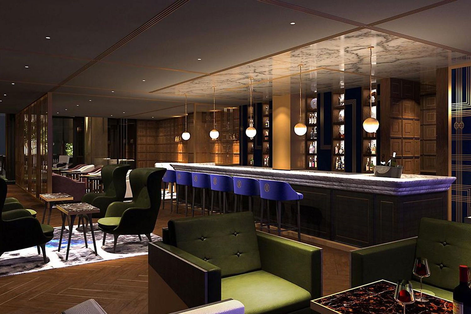 Mandarin Grill + Bar will have interiors by Adam Tihany.