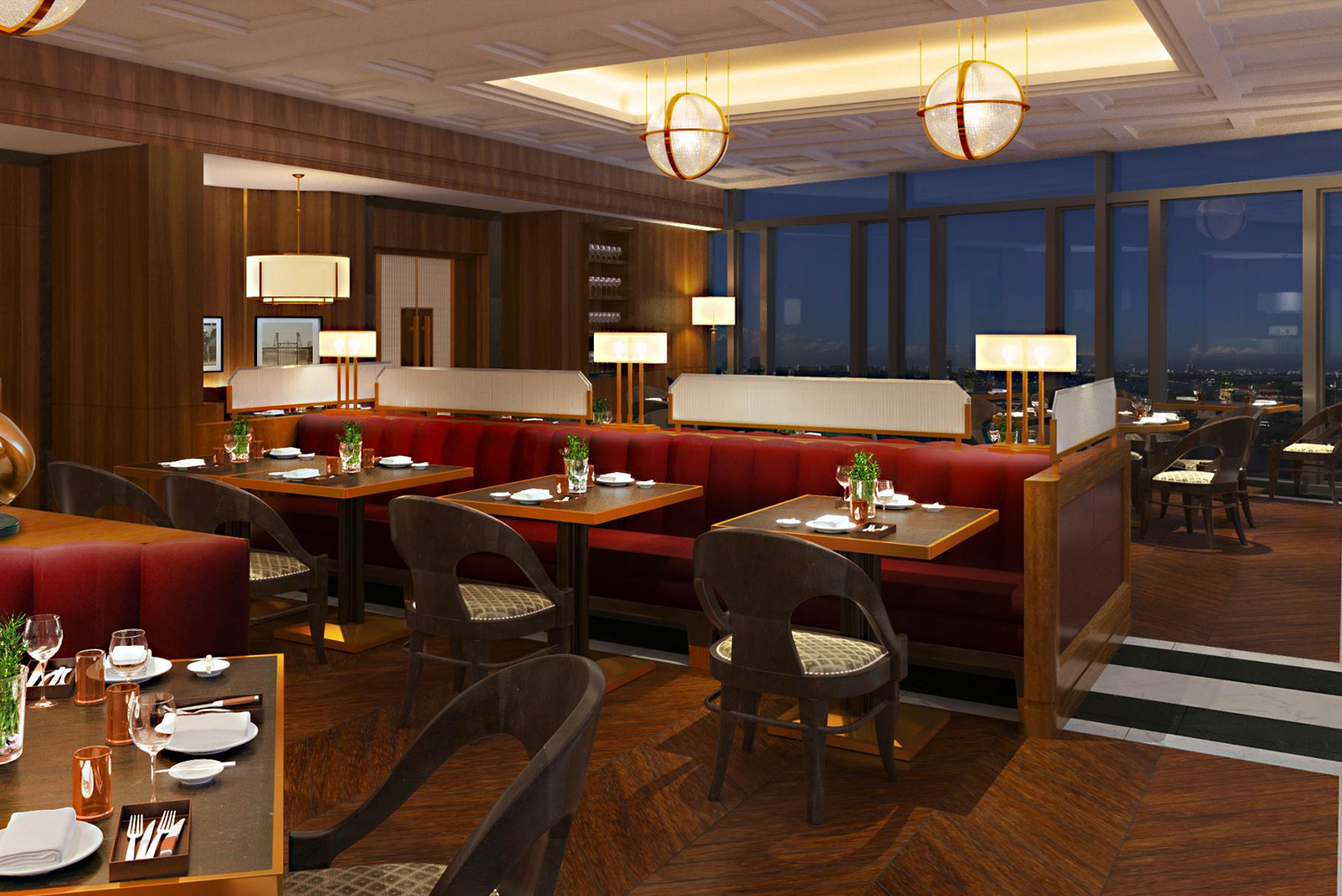 Mandarin Oriental Wangfujing will have two restaurants and a rooftop bar.