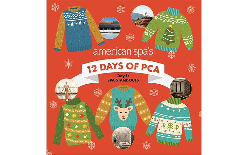 American Spa's 12 Days of PCA Day One: Spa Standouts