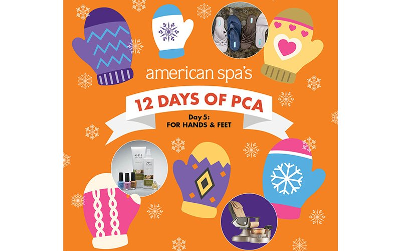 Day Five: For Hands and Feet Winners of American Spa's Professional's Choice Awards