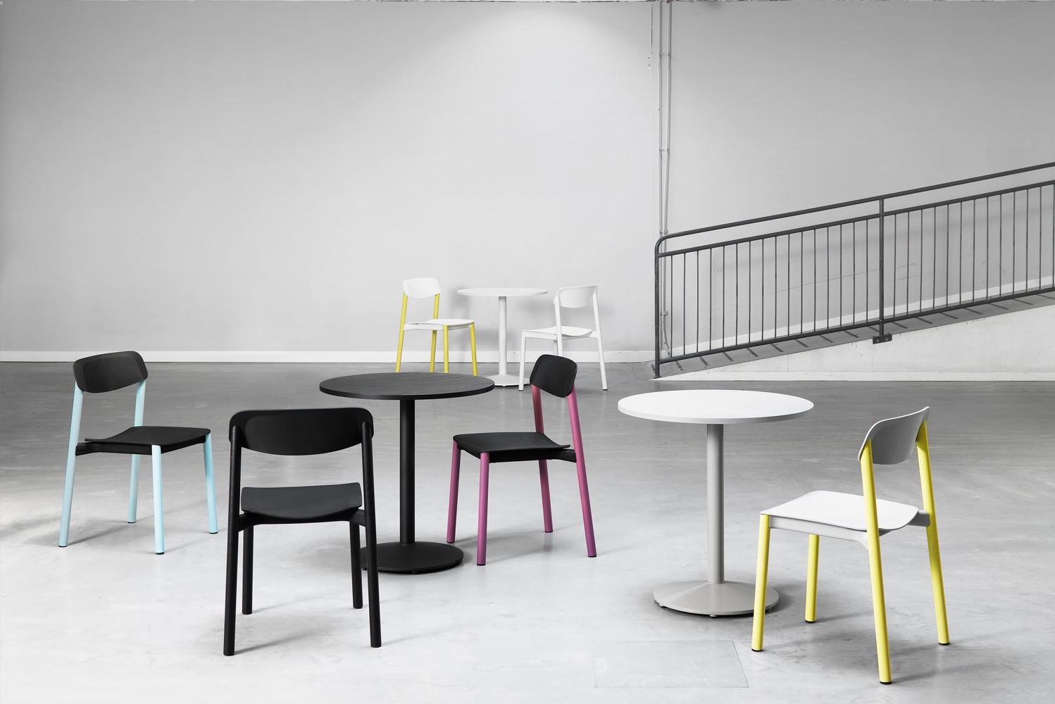 Introducing Penne by Swedish contract furniture brand Lammhults, the world's first chair with legs created using laminated wooden tubes.