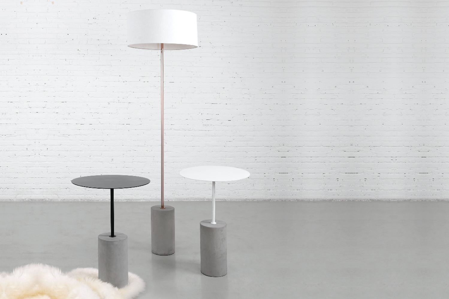 m.a.d. furniture design launched the Pier occasional table.