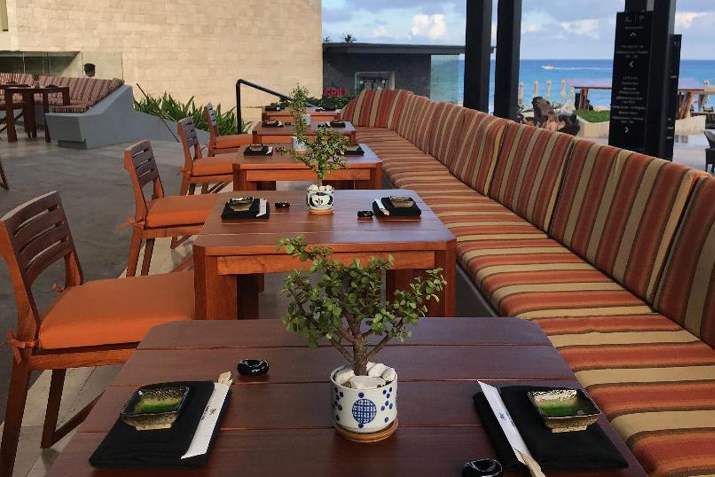 Sordo Madaleno, the designer of the resort, also designed this restaurant.