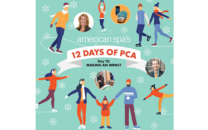 American Spa's 12 Days of PCA Day 12: Making an Impact