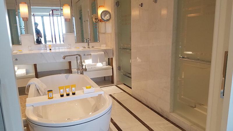 One of the Monaco Suite's bathrooms