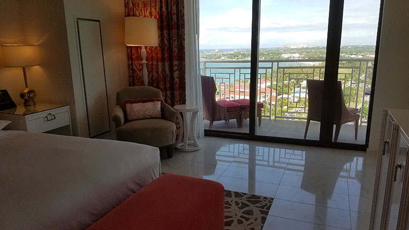 A One Bedroom Oceanview Suite