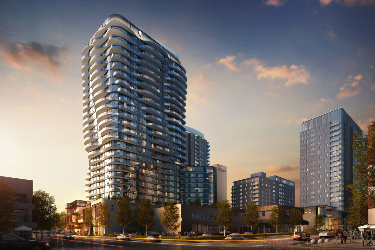 Fortress Development announced new details about Avenue Bellevue, its mixed-use project in downtown Bellevue, Washington.