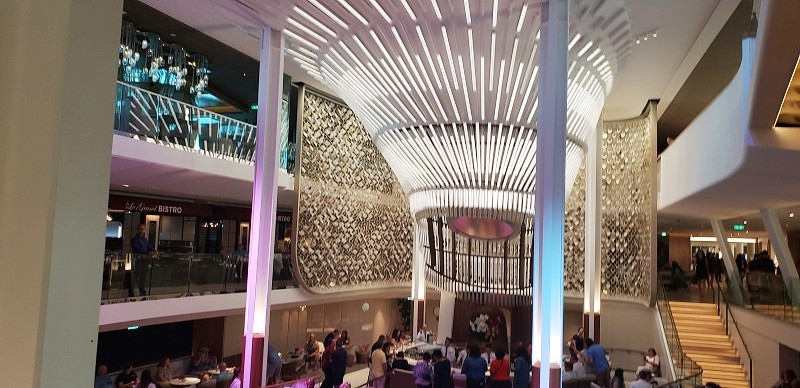 Grand Plaza of Celebrity Edge