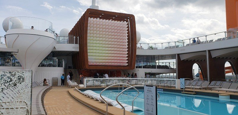 Main Pool Deck on Celebrity Edge