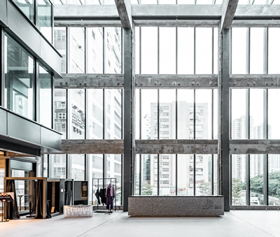 The Fabrica Atrium can be converted into a events space.