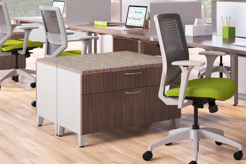 HON introduced Solve, a task chair.