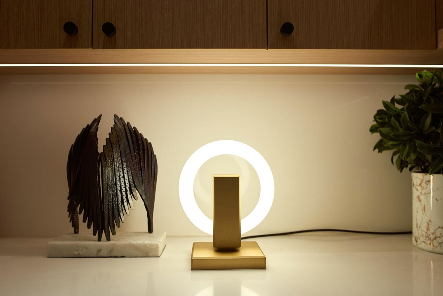 Introducing Olah, a table lamp from Karice Enterprises.