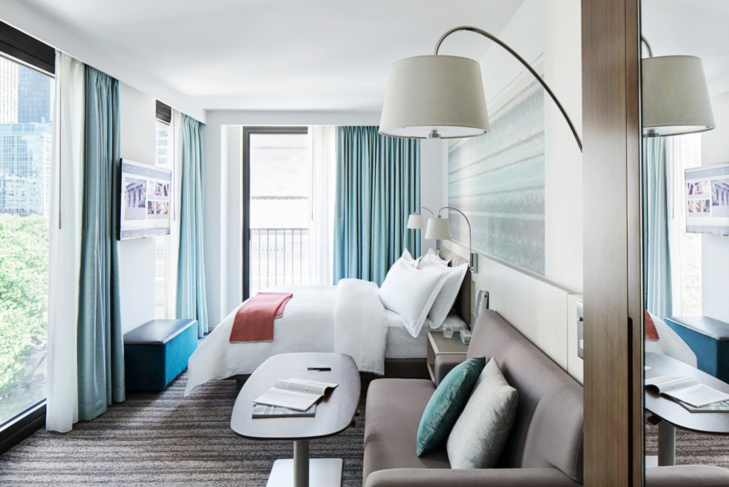 Park Terrace Hotel opened in New York City.