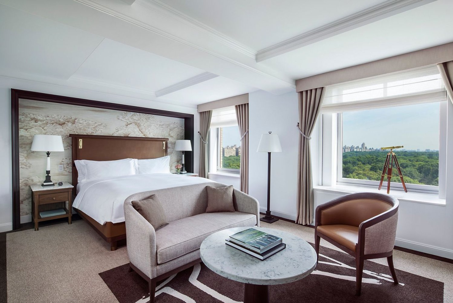 The Ritz-Carlton New York, Central Park debuted new guestrooms, suites, Club Lounge and a refreshed La Prairie Spa.